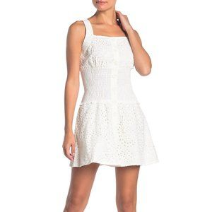 Kendall & Kylie Bronderie Anglaise Eyelet Dress